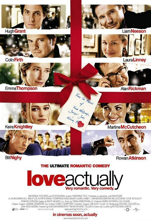 LOVE ACTUALLY - w/ SPARKLING WINE & MINCE PIES!