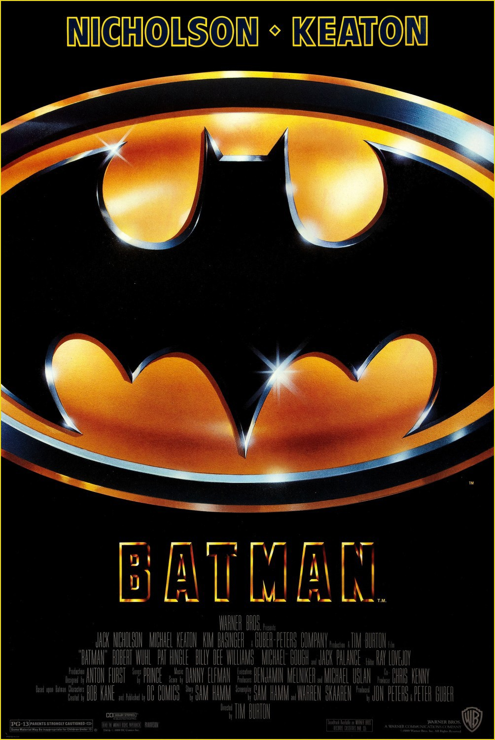 BATMAN [1989] • 30th Anniversary [Re-Release]