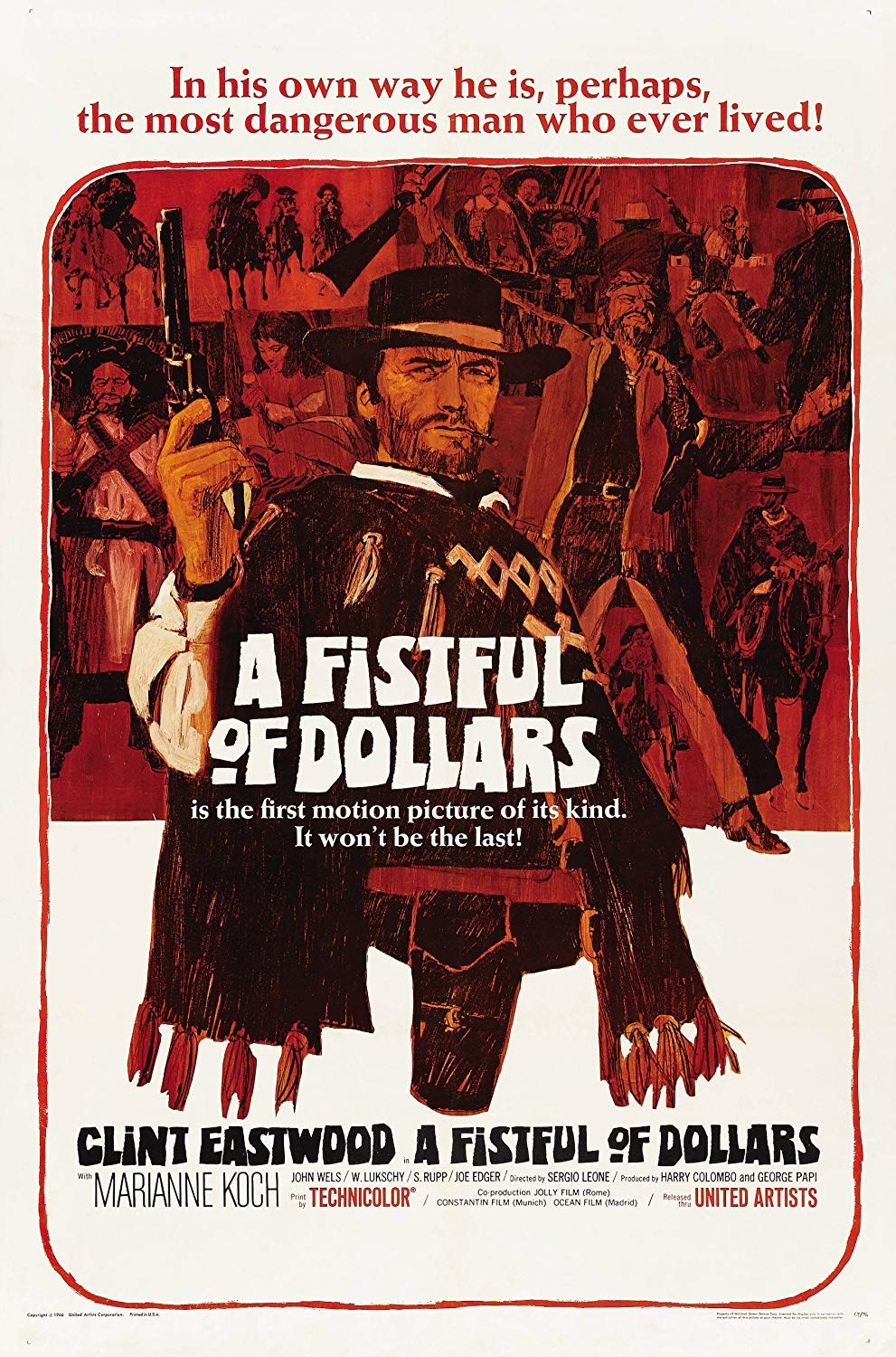 A FISTFUL OF DOLLARS [Per un pugno di dollari]