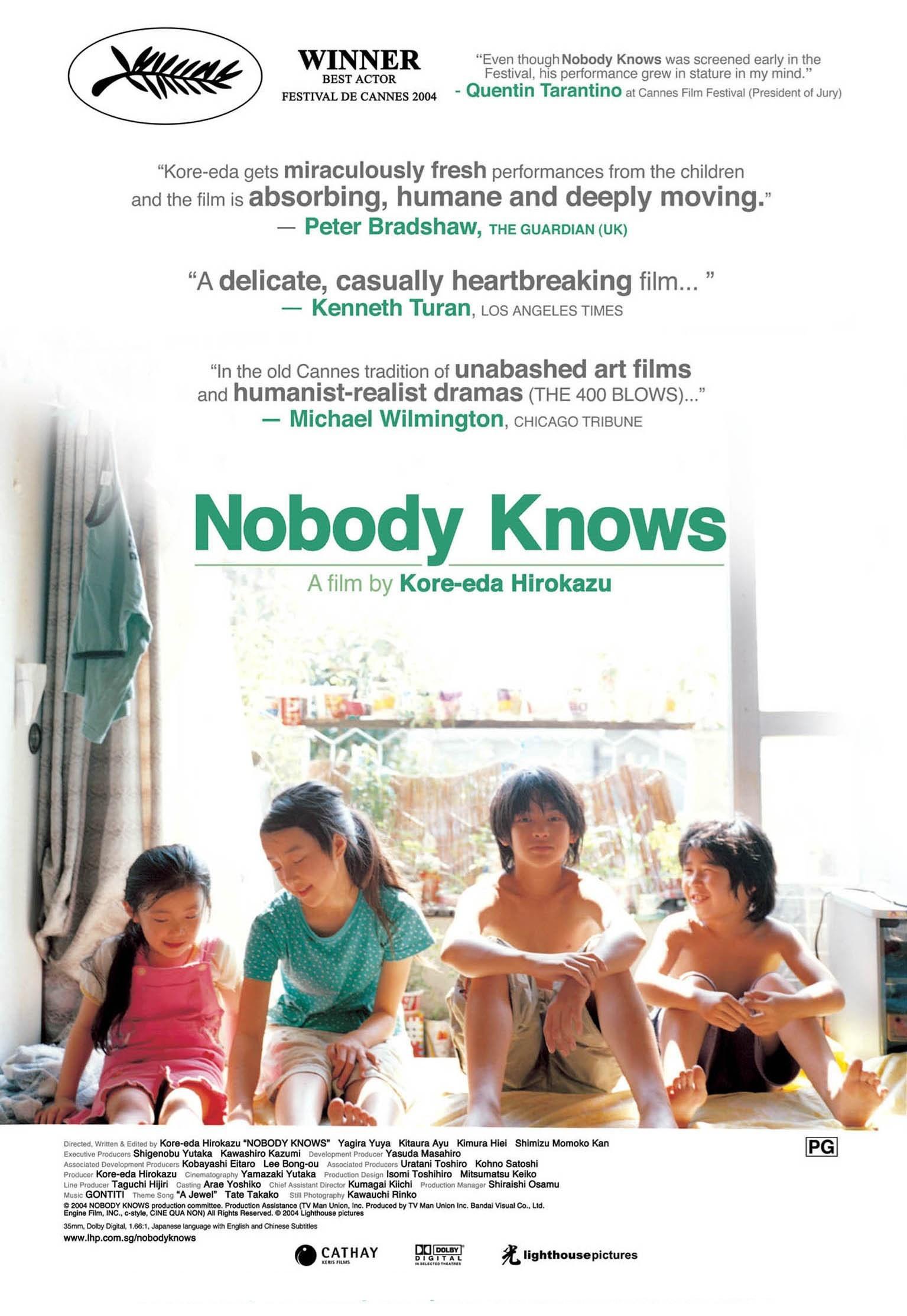 NOBODY KNOWS [Dare mo shiranai]
