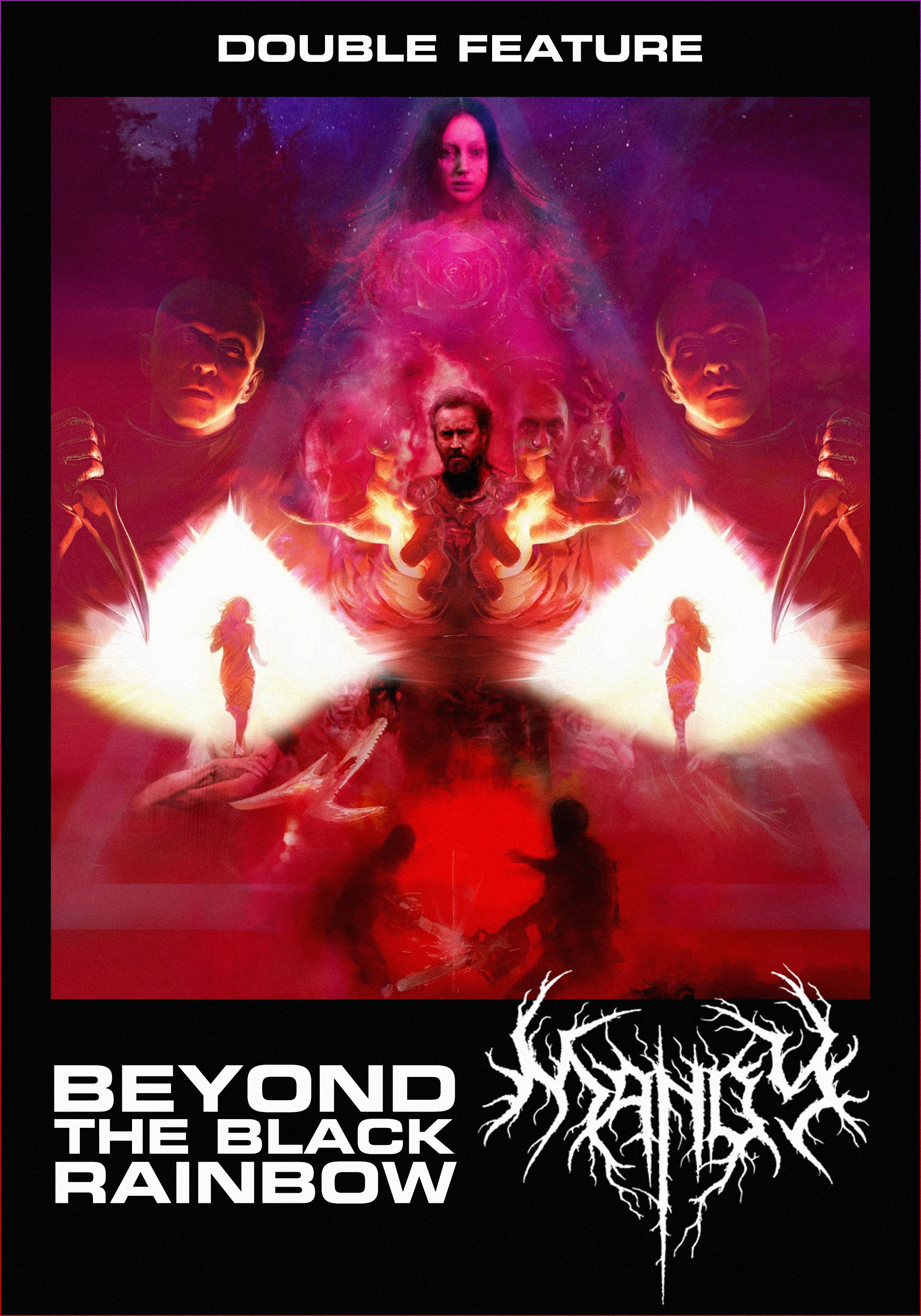 BEYOND THE BLACK RAINBOW + MANDY