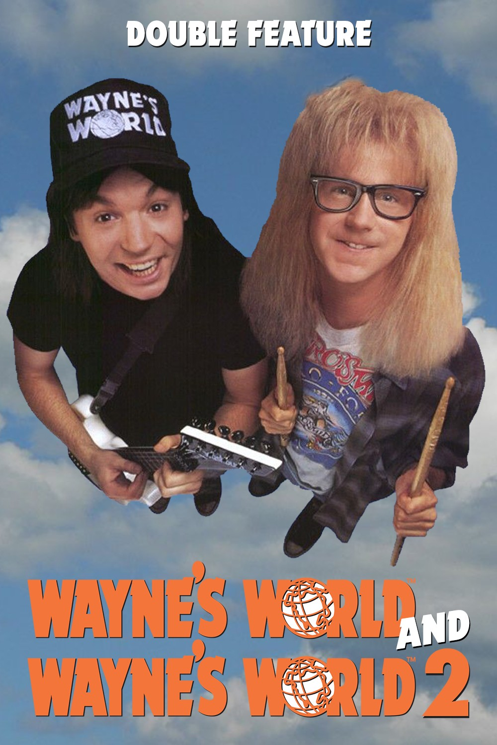 WAYNE'S WORLD + WAYNE'S WORLD 2
