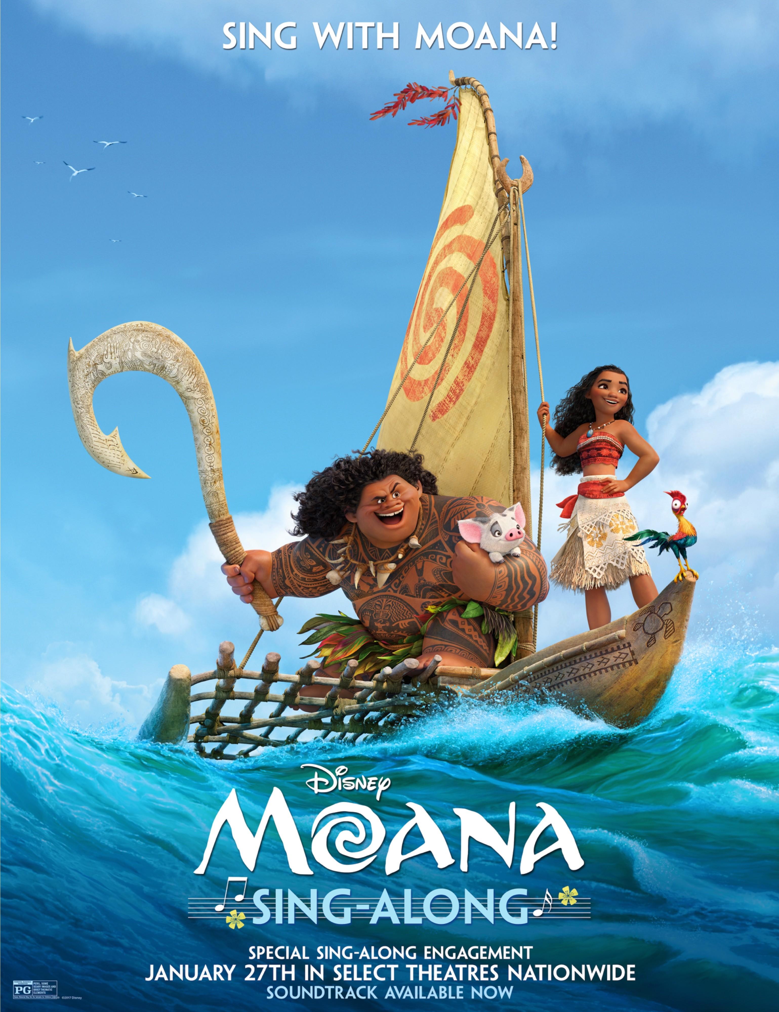 MOANA • Sing-Along