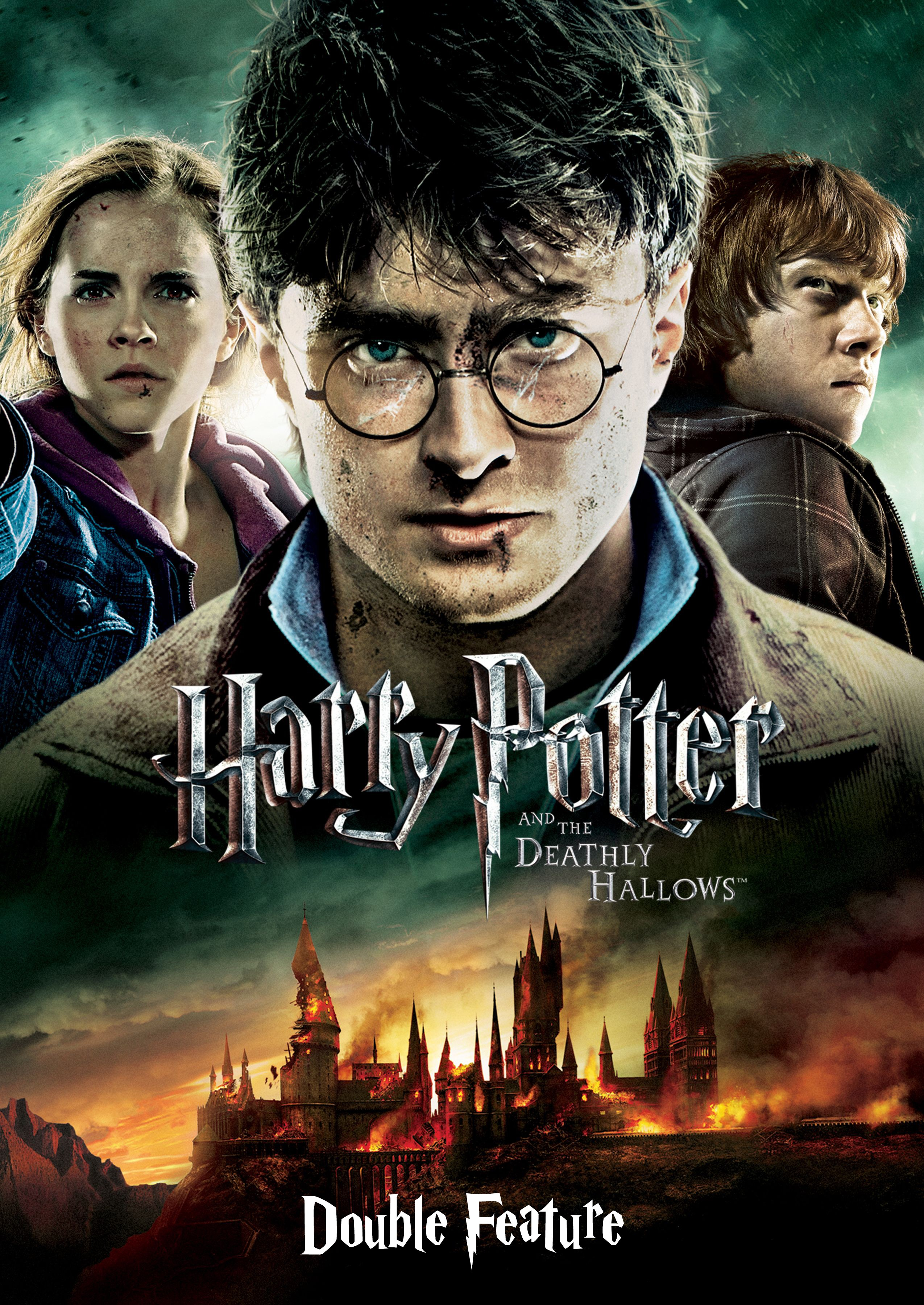 HARRY POTTER AND THE DEATHLY HALLOWS - PT1 + 2