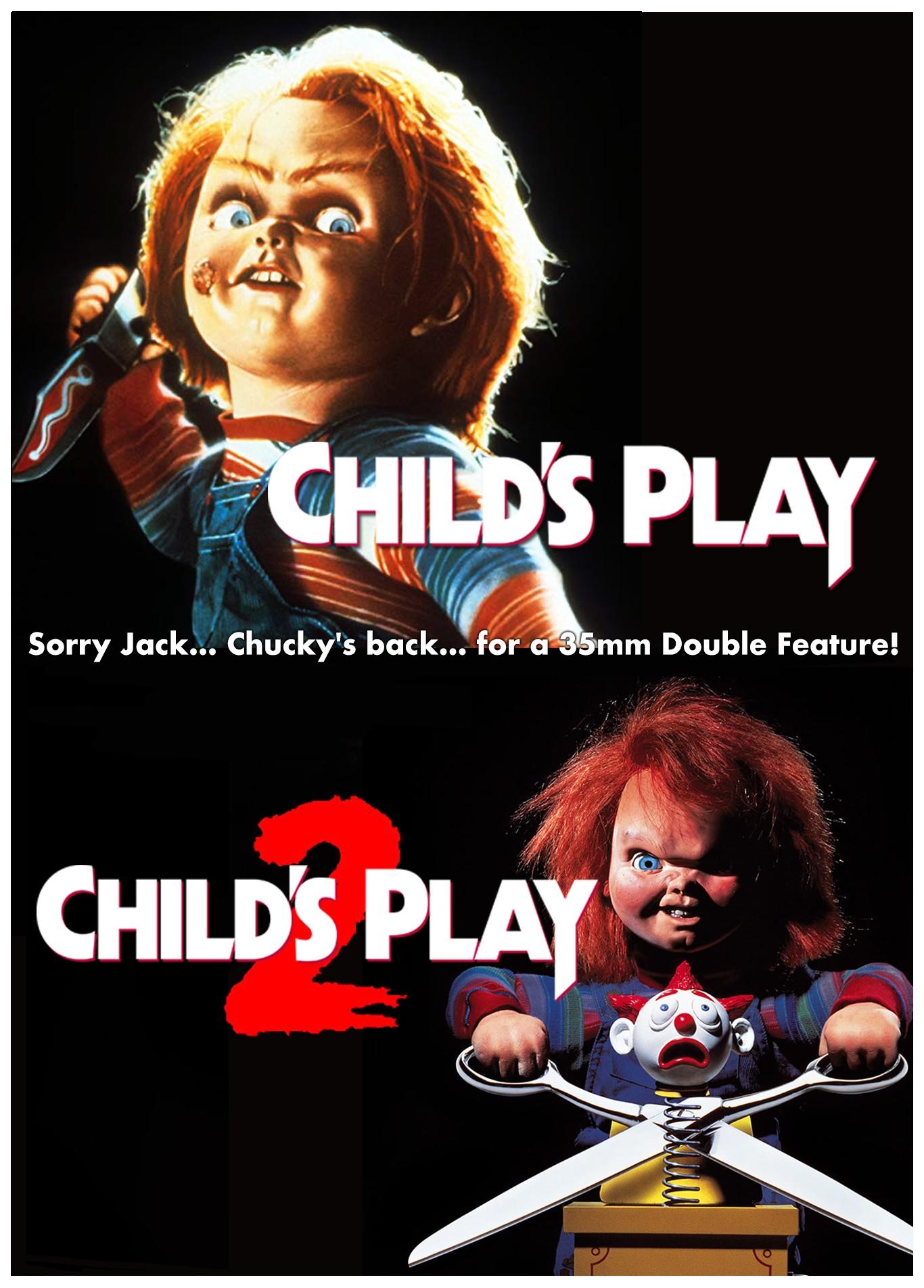 CHILD'S PLAY 1 & 2