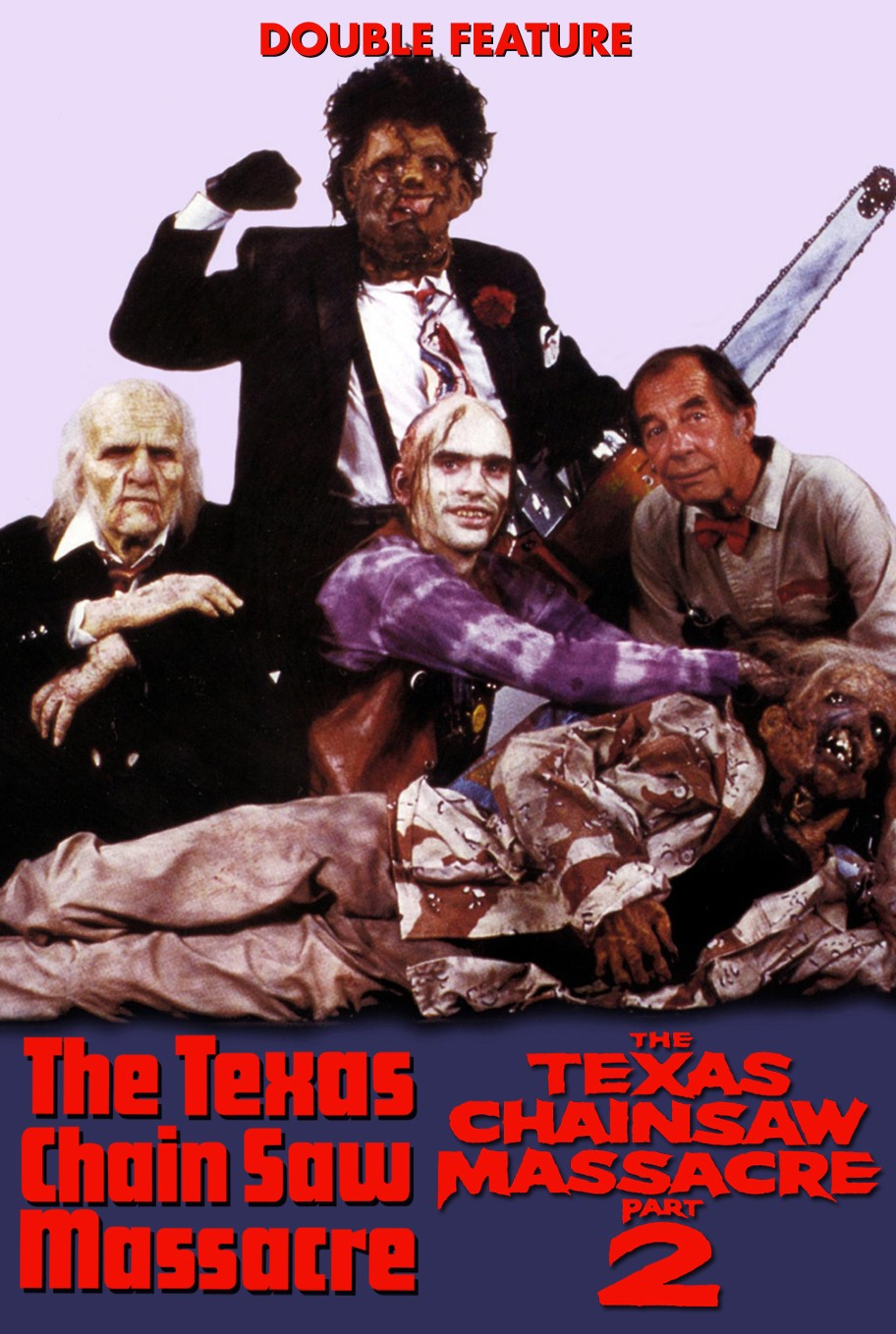 THE TEXAS CHAIN SAW MASSACRE + THE TEXAS CHAINSAW MASSACRE 2