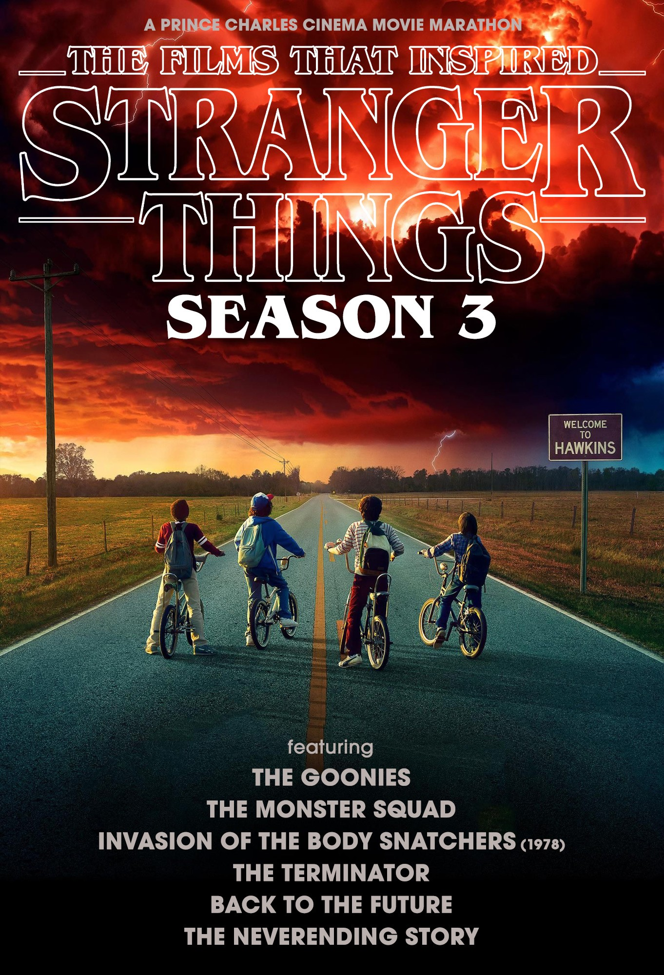 THE FILMS THAT INSPIRED 'STRANGER THINGS : SEASON 3