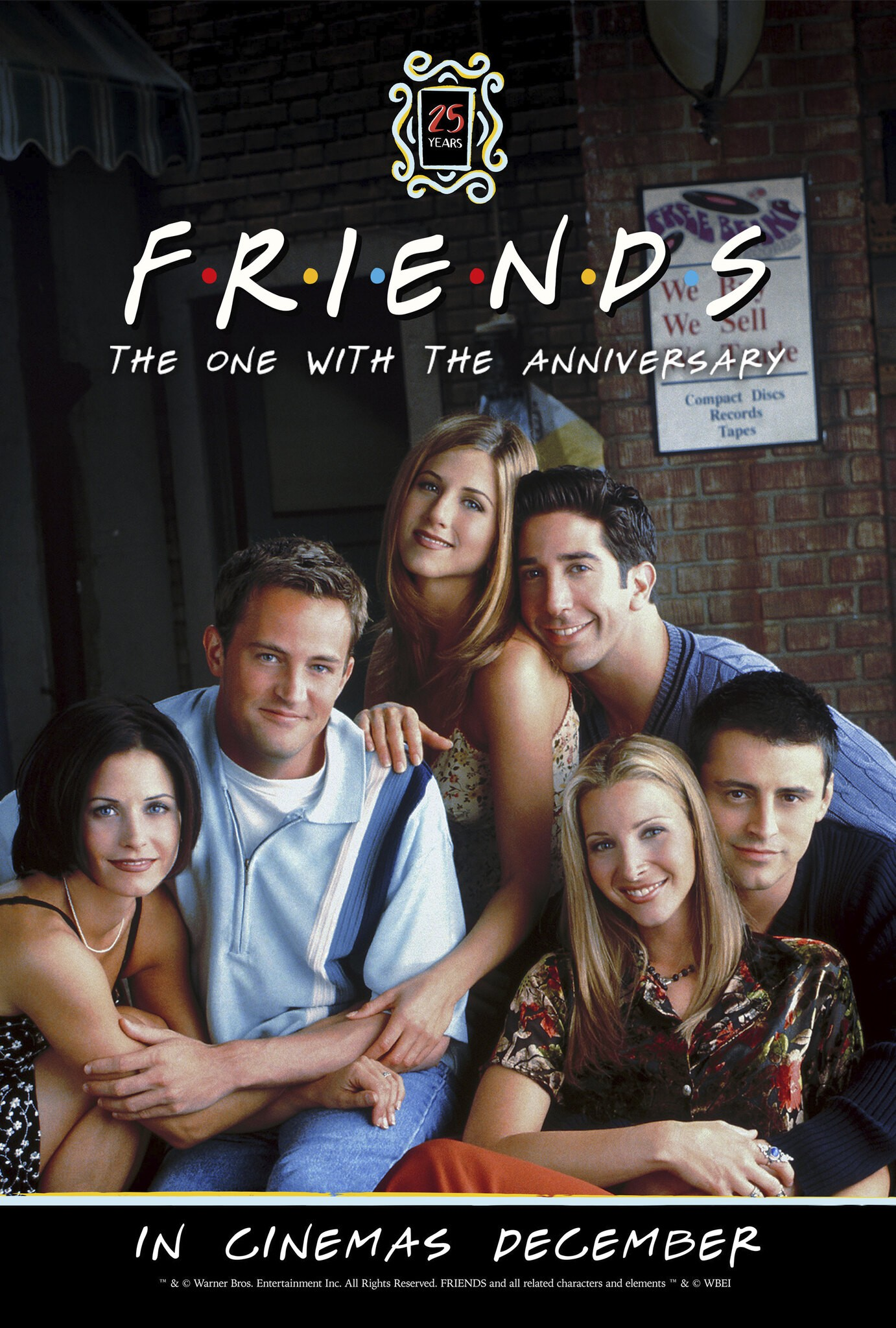 FRIENDS 25TH : THE ONE WITH THE ANNIVERSARY