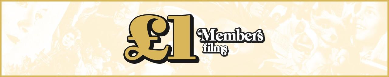 £1 Member Screenings