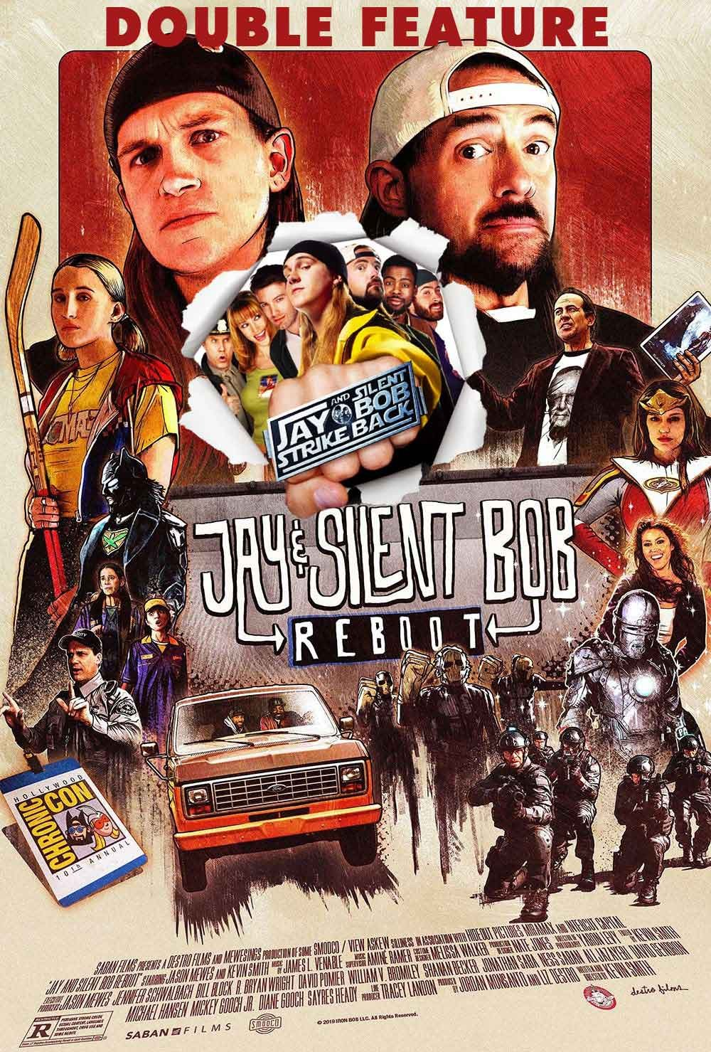 JAY & SILENT BOB STRIKE BACK and REBOOT