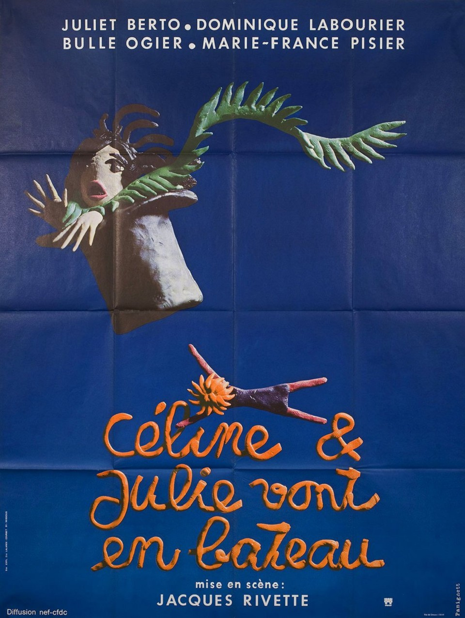 CELINE AND JULIE GO BOATING  [Céline et Julie vont en bateau]