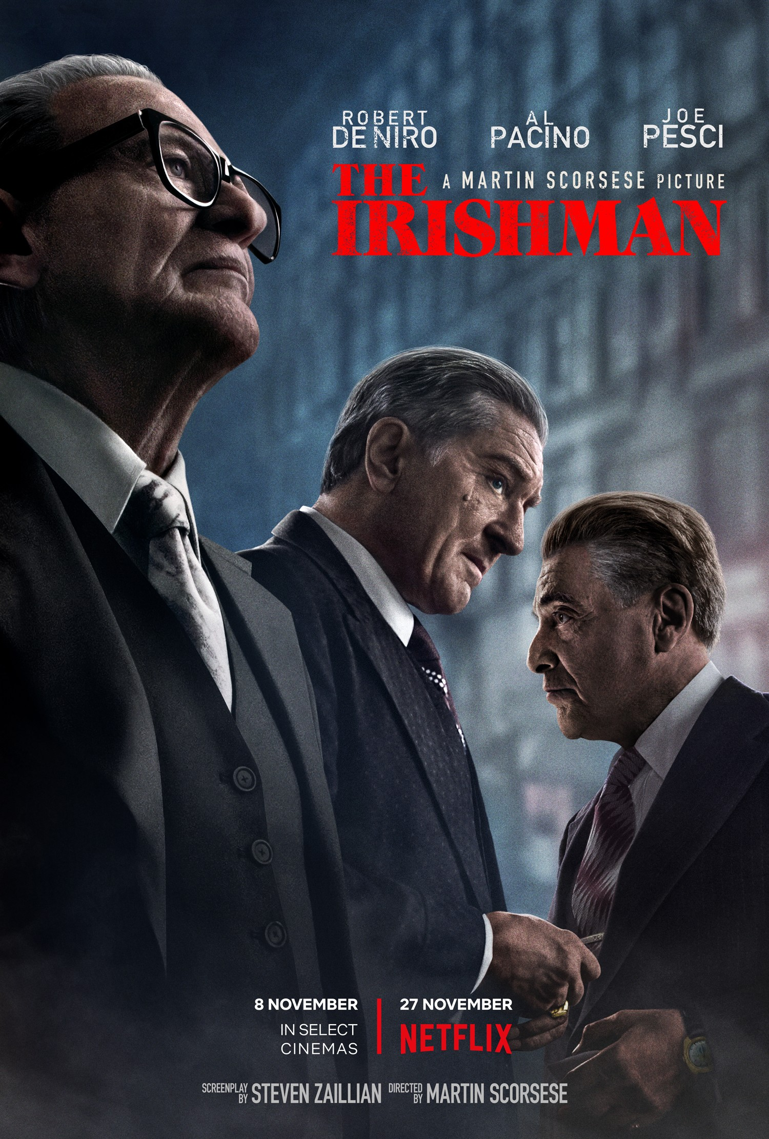 Martin Scorsese's THE IRISHMAN