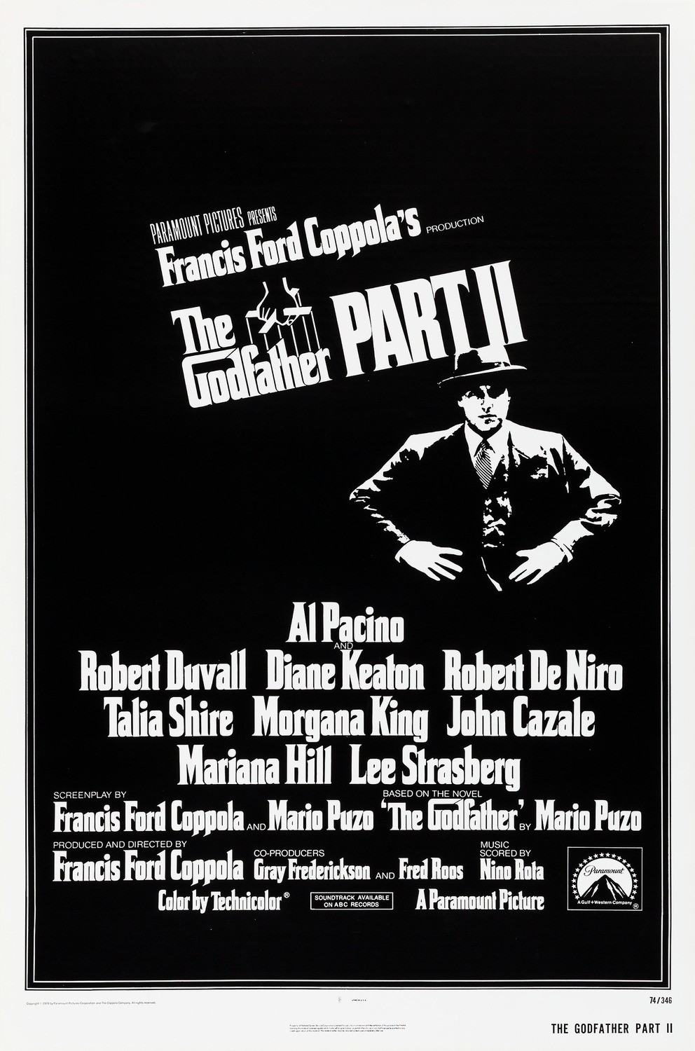 THE GODFATHER : PART II [Week Long Engagement]