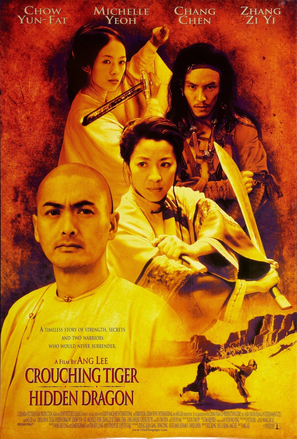 CROUCHING TIGER, HIDDEN DRAGON [Wo hu cang long]