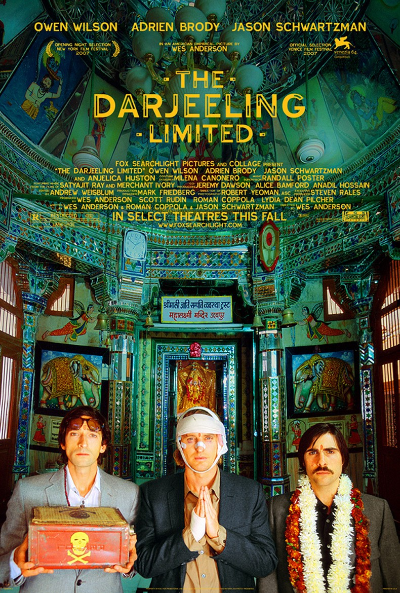 THE DARJEELING LIMITED + HOTEL CHEVALIER