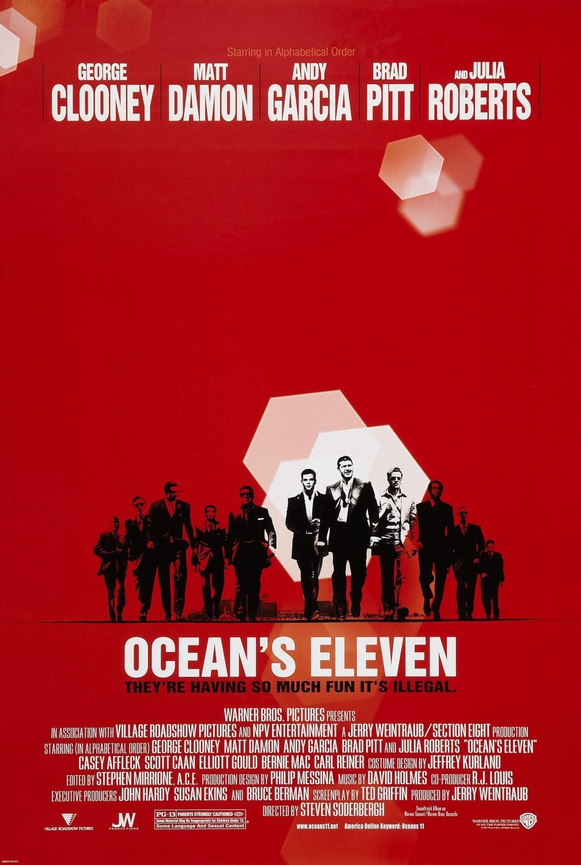 OCEAN'S ELEVEN [2001]