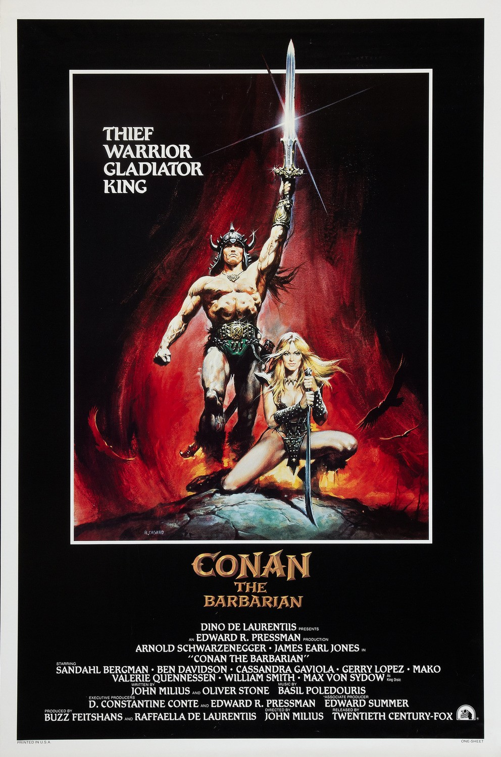 CONAN THE BARBARIAN [1982]