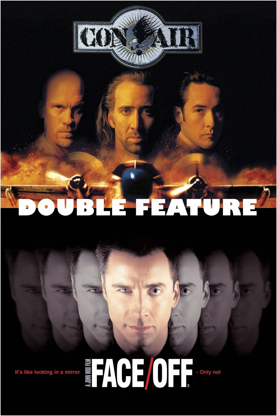 CON AIR + FACE/OFF
