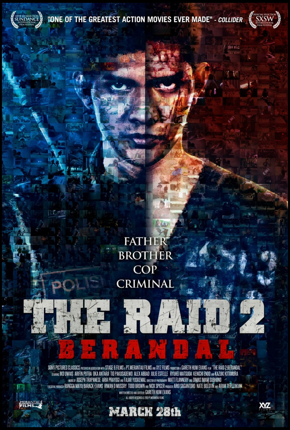 THE RAID - DOUBLE FEATURE and SOLO SHOWS