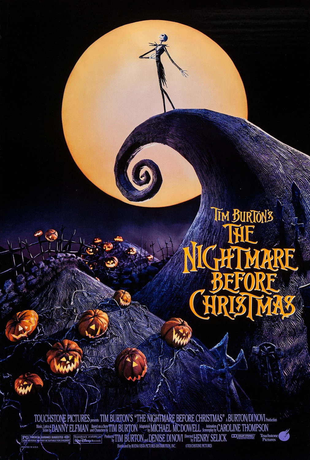 THE NIGHTMARE BEFORE CHRISTMAS - Sing Along
