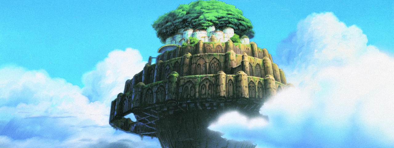 LAPUTA : CASTLE IN THE SKY [Dubbed]