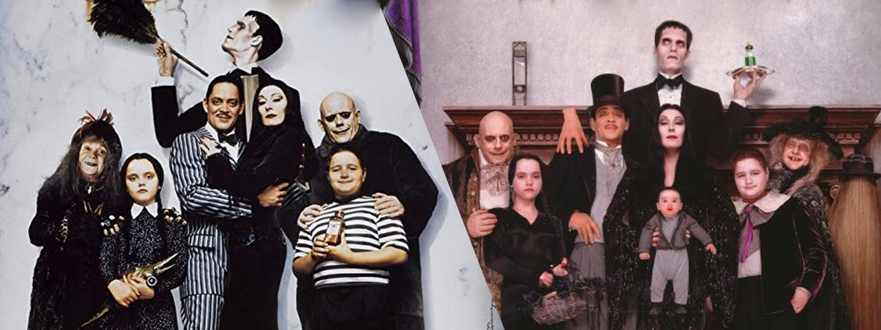 THE ADDAMS FAMILY + ADDAMS FAMILY VALUES