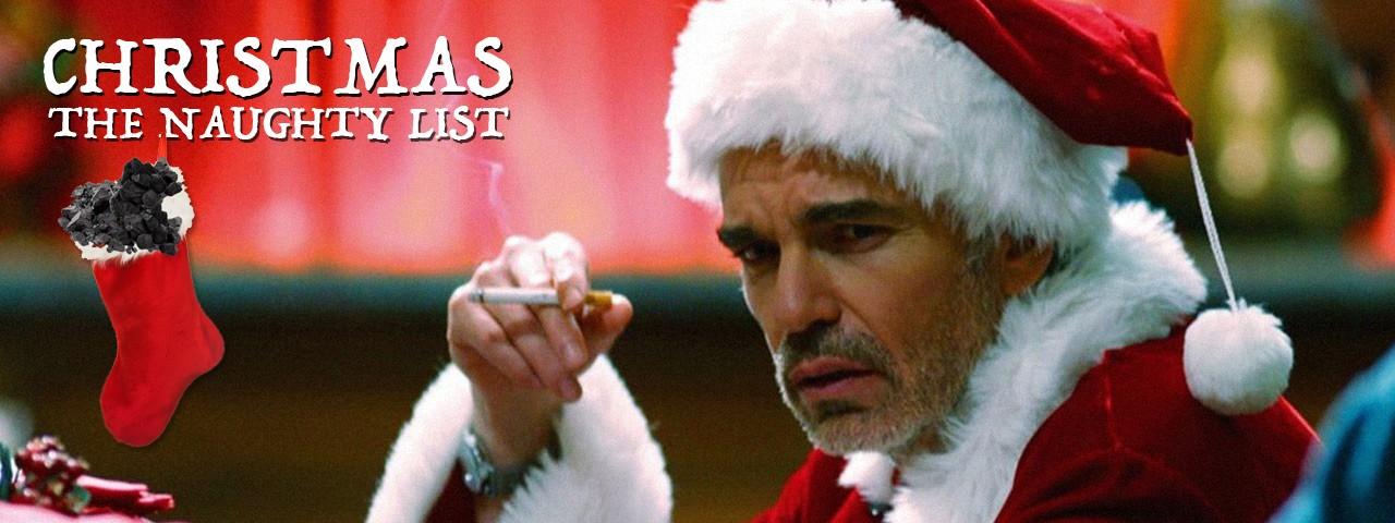 CHRISTMAS - THE NAUGHTY LIST