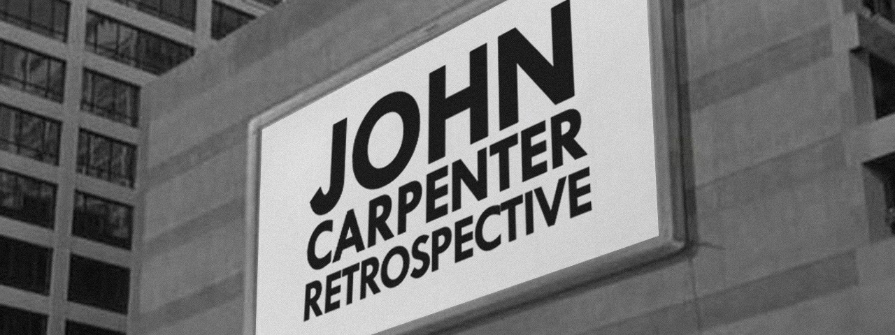 JOHN CARPENTER RETROSPECTIVE