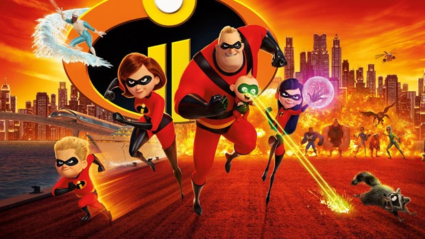 3D - Incredibles 2