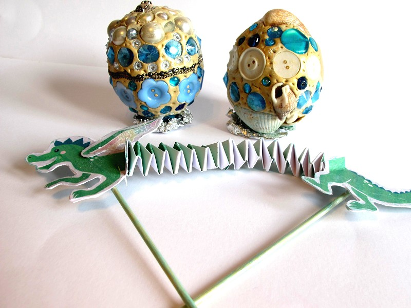 Dragon Egg & Dragon Puppet Workshop