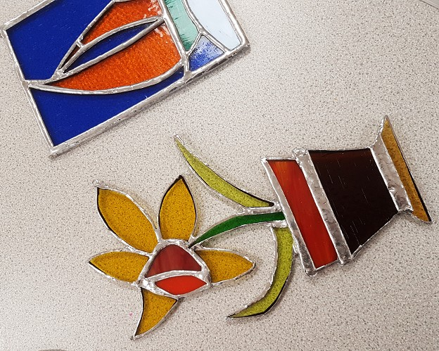 Stained Glass Workshop April 19