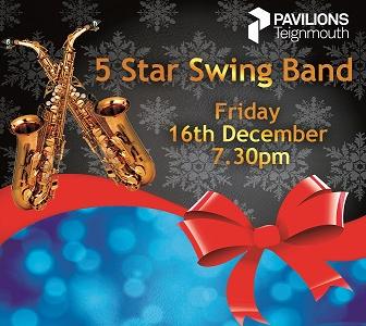 Festive Dance & Dine 5 Star Swing Band