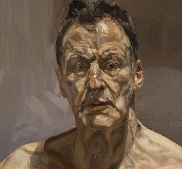 EOS-Lucian Freud; A Self Portrait