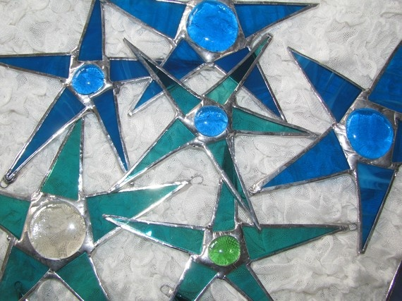 Make a Christmas Glass Star Workshop