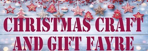 Christmas Gift & Craft Fayre 2021