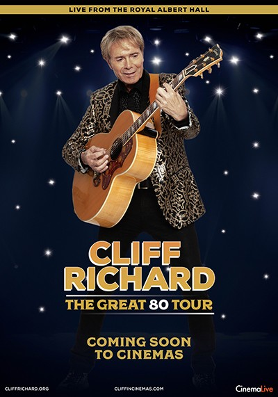 On Screen: Cliff Richard The Great 80 Tour