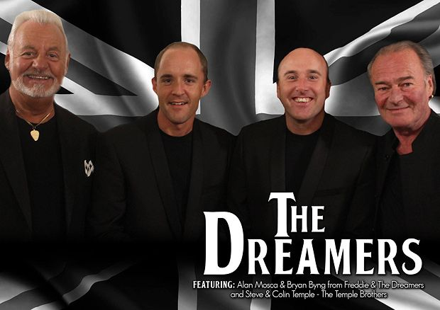 The Dreamers supported By The Temple Brothers