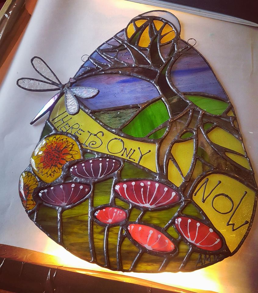 Stained Glass Day Workshop Spring 2018
