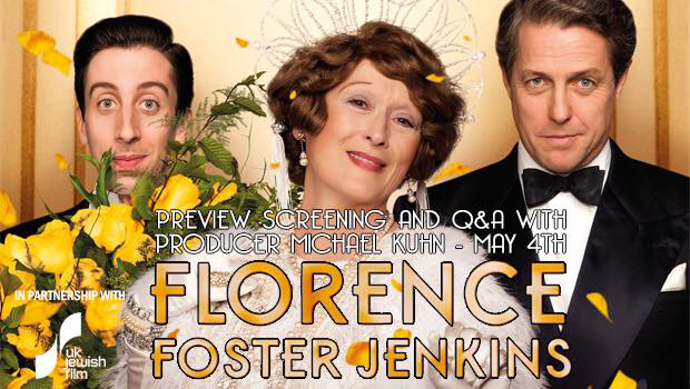 UKJF: Florence Foster Jenkins Preview + Q&A