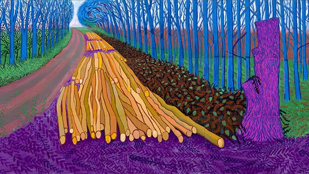 Hockney: Landscapes, Portraits and One Still-Life