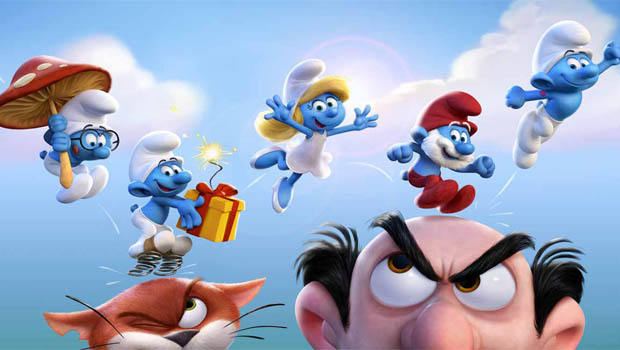 Cineminis:Smurfs The Lost Village