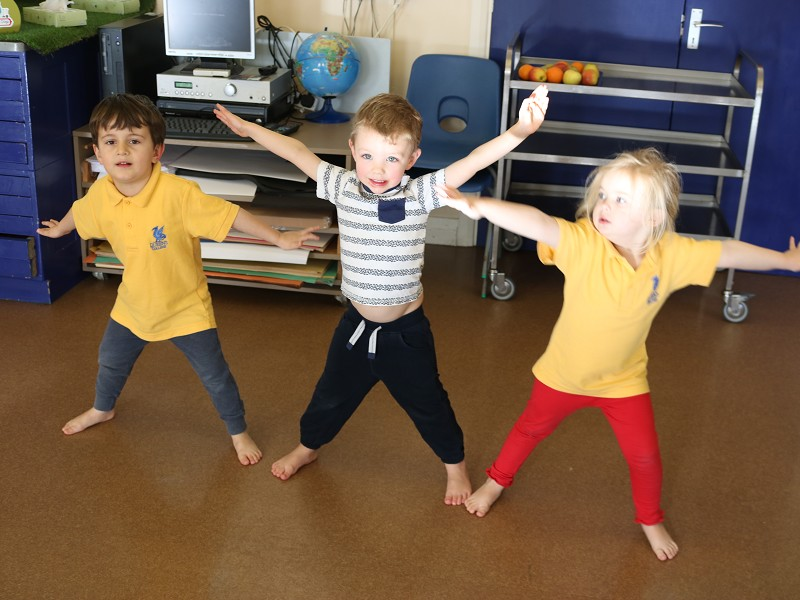 Dance for 3 to 4 year-olds