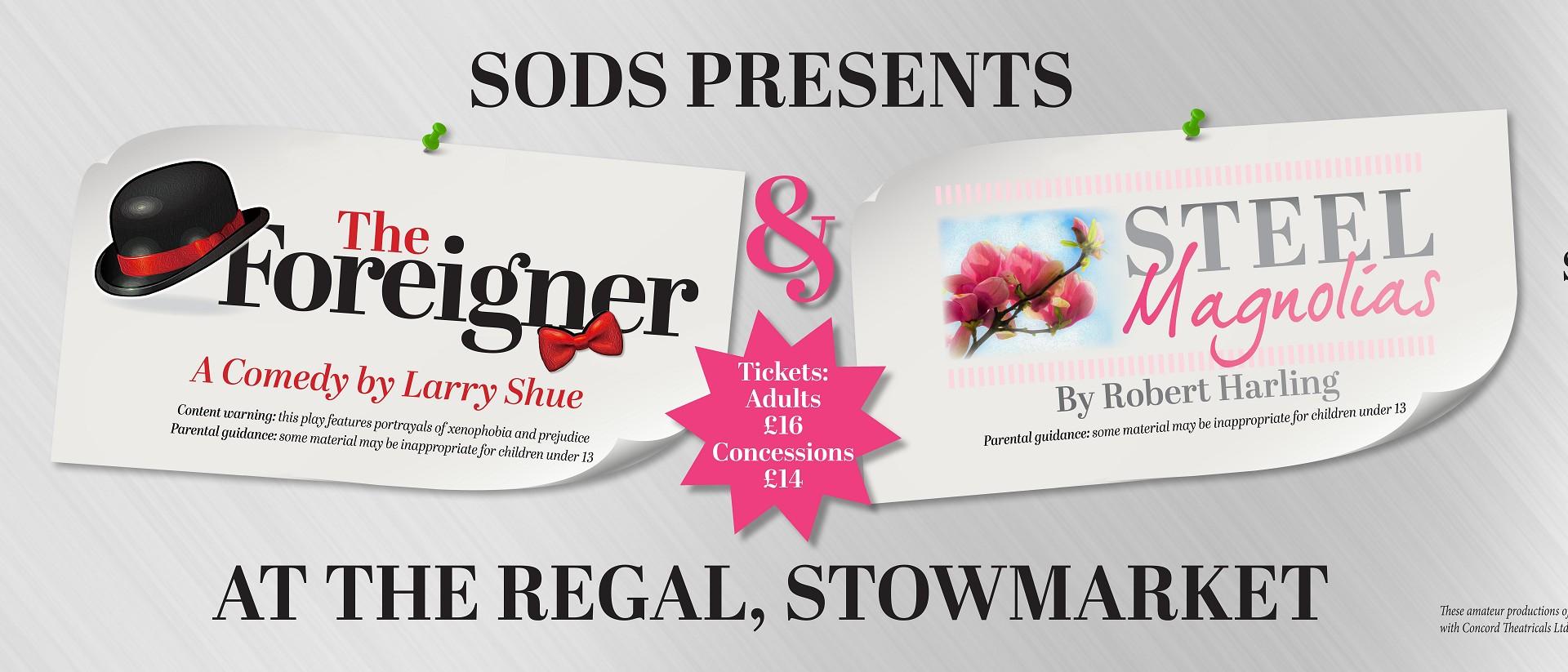SODS Presents : Steel Magnolias