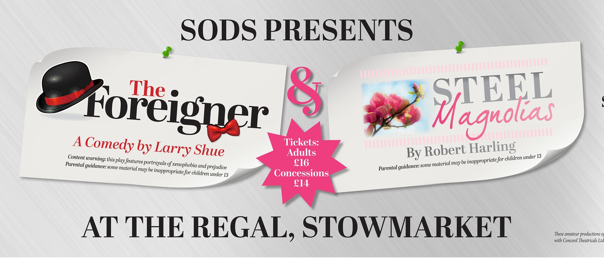 SODS Presents: The Foreigner