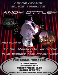 Andy Ottley Elvis Tribute