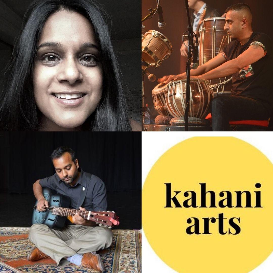 Kahani Arts Workshops Yr 3 - 6