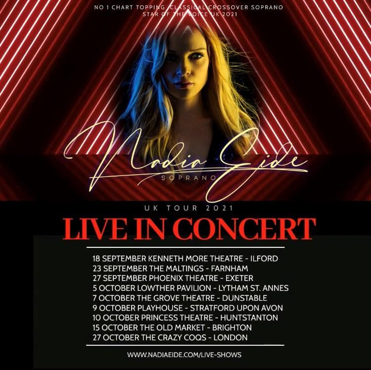Nadia Eide Live In Concert