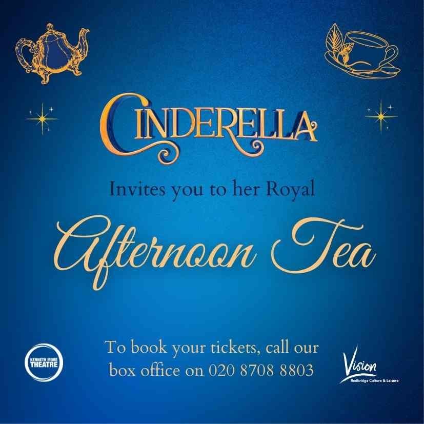 Cinderella's Royal Afternoon Tea
