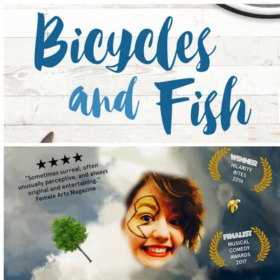 Funny Females Friday - Katie Pritchard + Bicycles and Fish