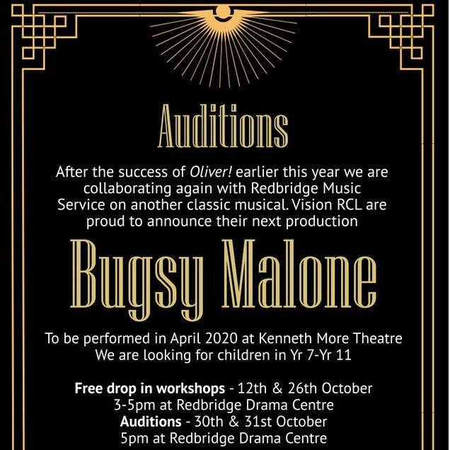 Bugsy Malone Auditions